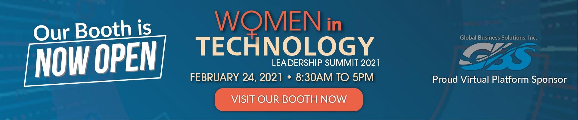 GBS Women in Tech Banner - Open