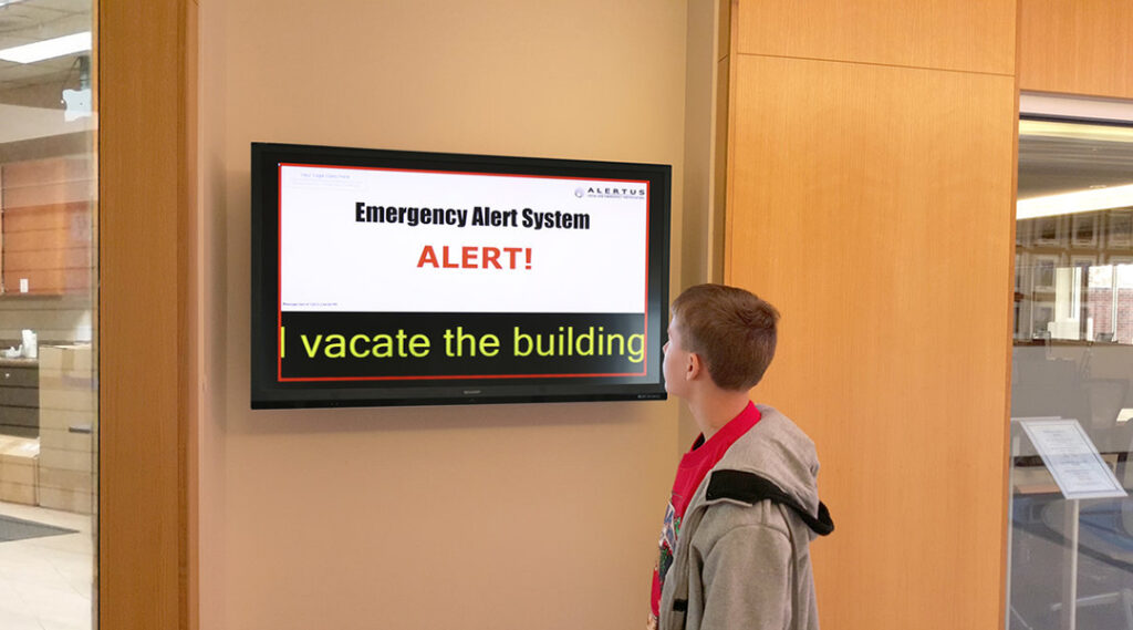 GBS K-12 Signage and Notifications Image